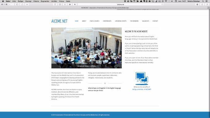 Medlemssite: AICEME.net