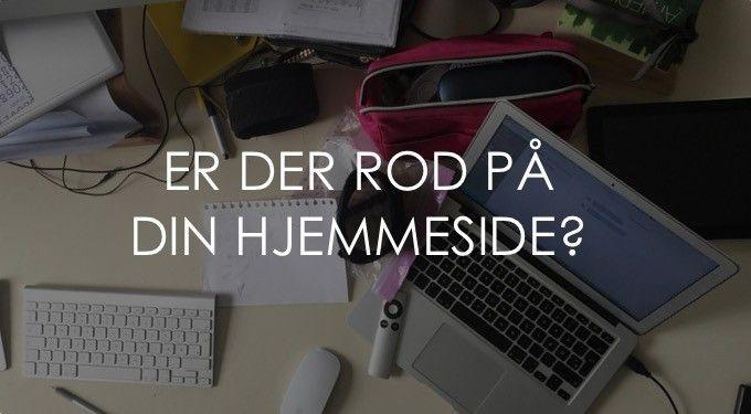 Er Der Rod På Din Hjemmeside?