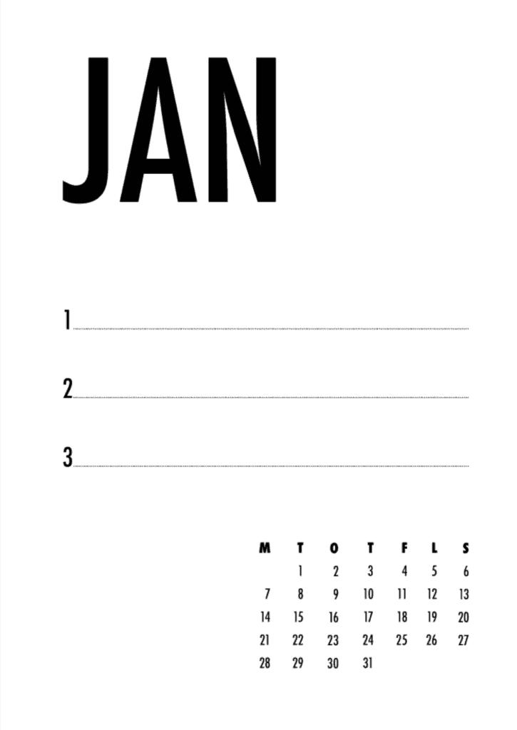 Gratis kalender fra OBBEKÆR Design & Kommunikation