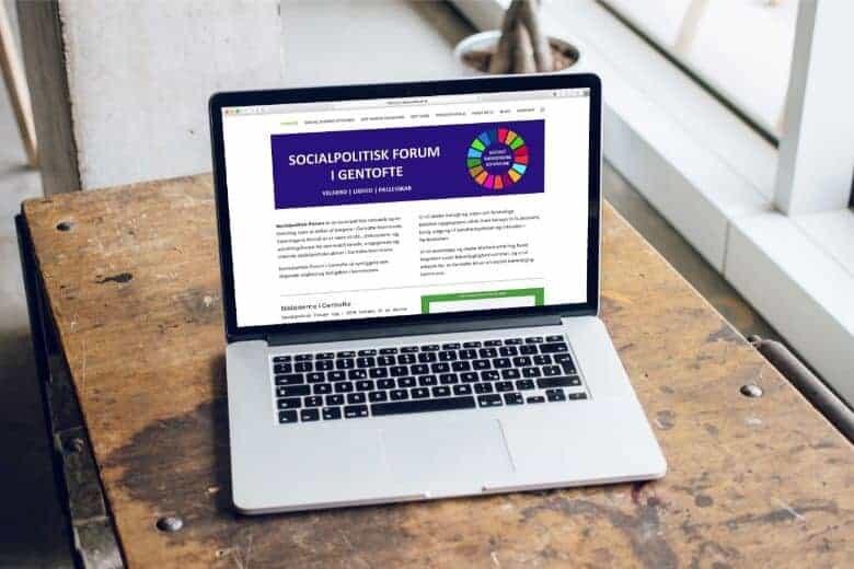 OBBEKÆR hjemmeside til Socialpolitisk Forum