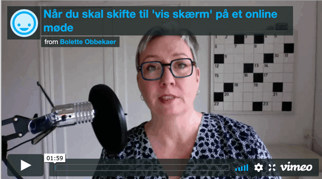 Bolette Obbekær Giver Tips Til Online Møder På Zoom
