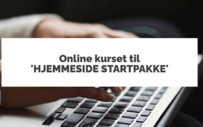Hjemmeside Startpakke-videoer